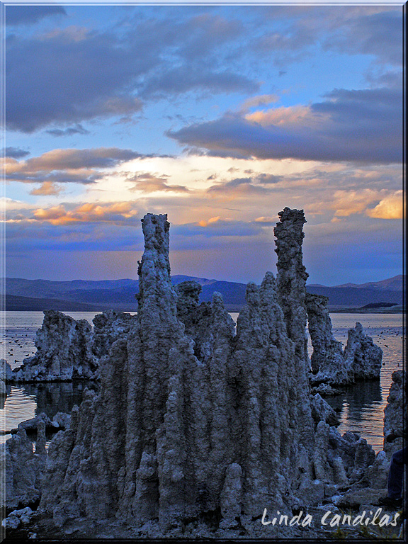 Tufas Mono Lake Sunset
