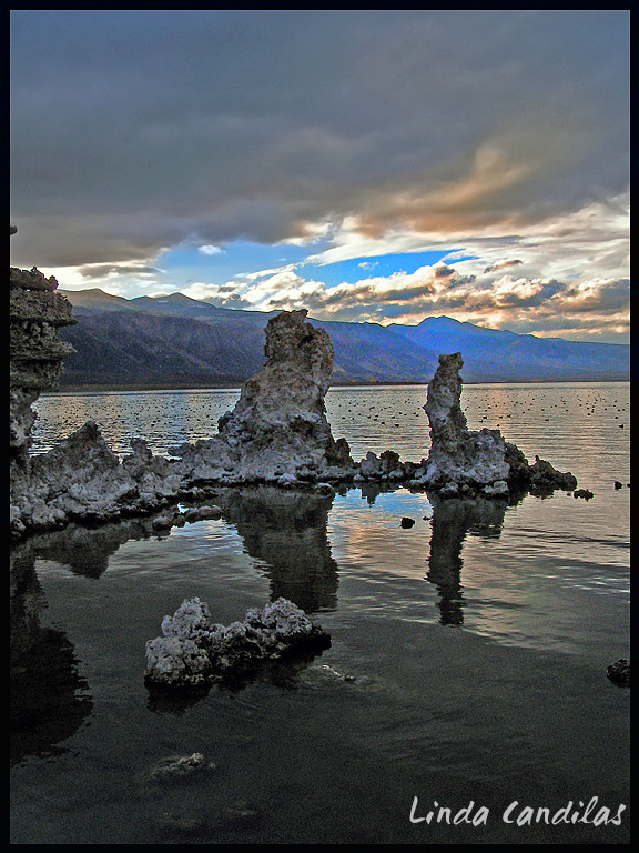 Tufas Mono Lake Sunset Tufas