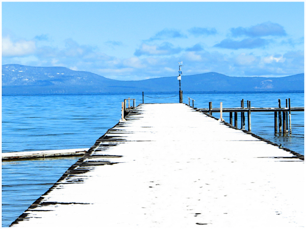 South Lake Tahoe Dock, Early Spring