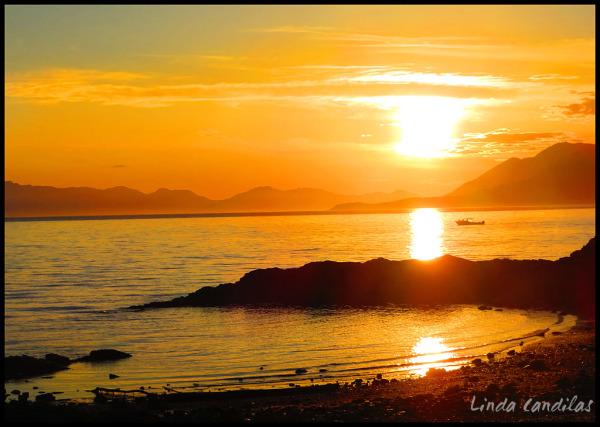 Alaska Sunsetting
