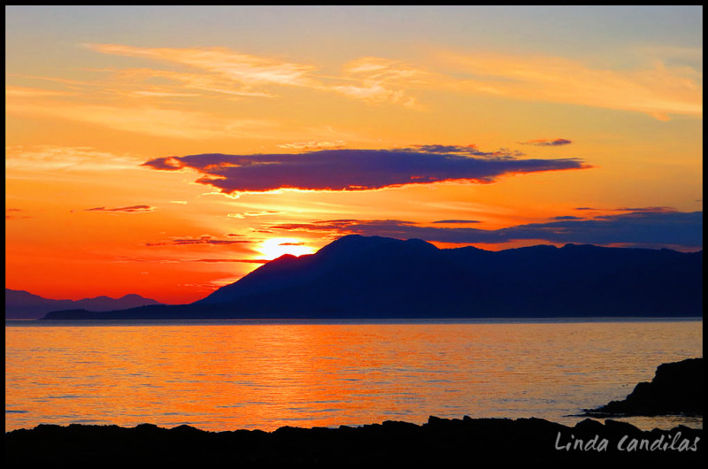 Alaska Sunsetting