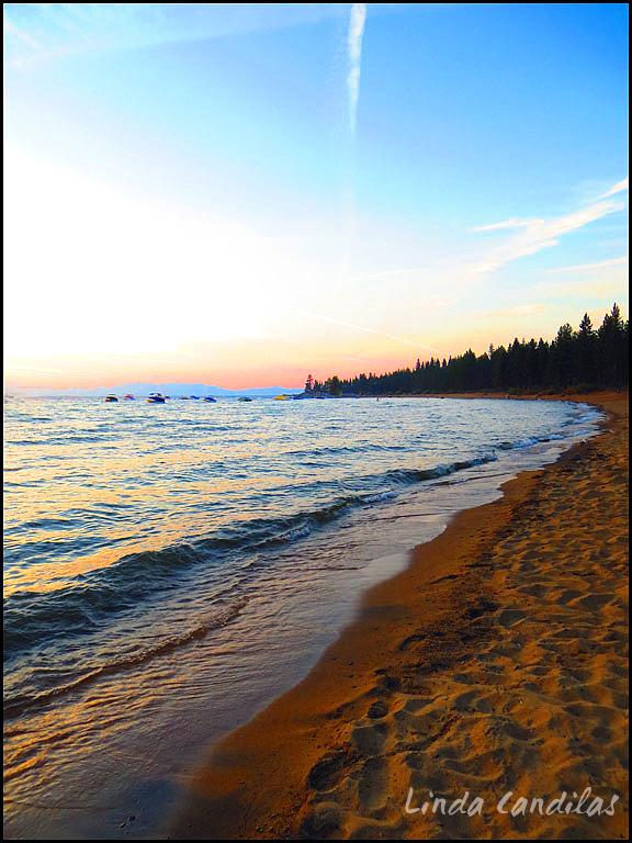 Zephyr Cove Beach