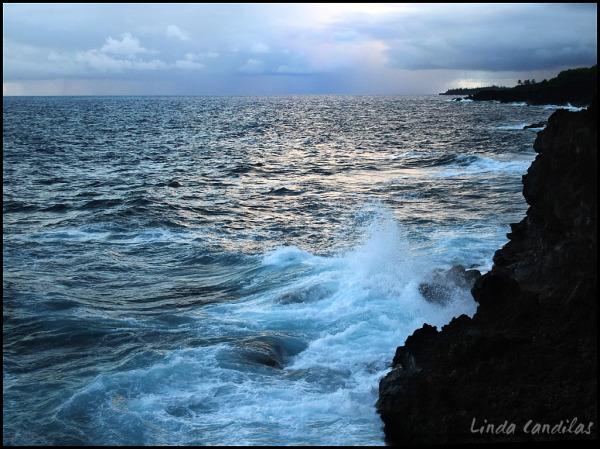 Puna Cliffs and Rising Storm