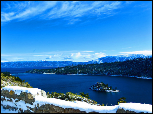 View from Emerald Bay, Lake Tahoe