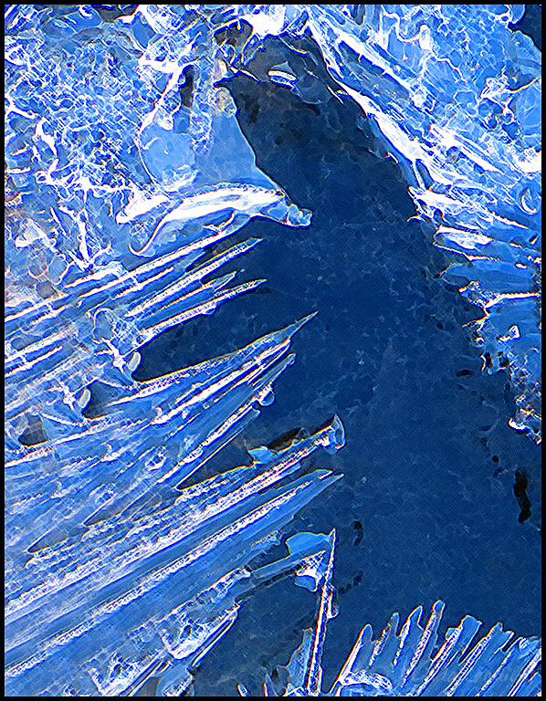Frozen Crystals, Bishoup Creek