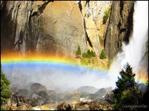 Yosemite Falls Rainbow