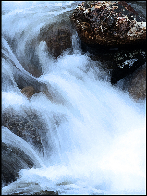 Bridalvail Creek, Yosemite 3