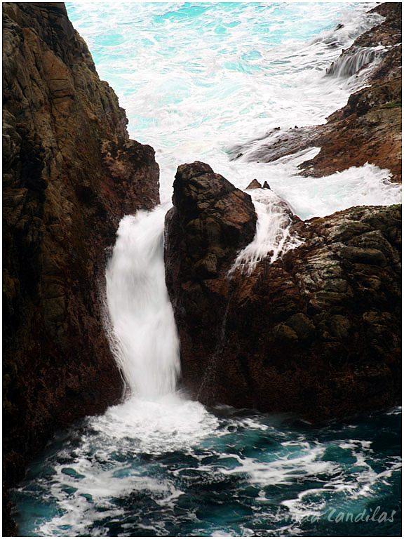 Point Lobos State Park, Surf Breaking