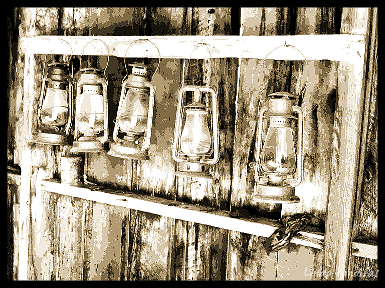 Fire Station Lamps
