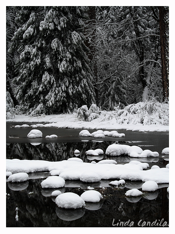 Winter Snow, Merced River