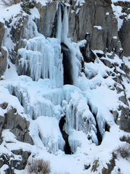 Frozen Waterfall, Bishop Creek