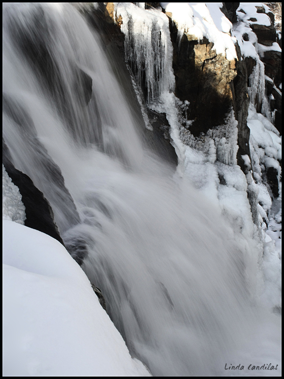 A Cold Eagle Falls, South Lake Tahoe