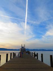 Tahoe Queen at Bay, Zepher Cove, Tahoe