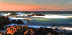 Sunset Asilomar State Beach, Pacific Grove