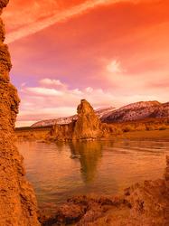 A Delirious Sunset, South Tufa's, Mono Lake