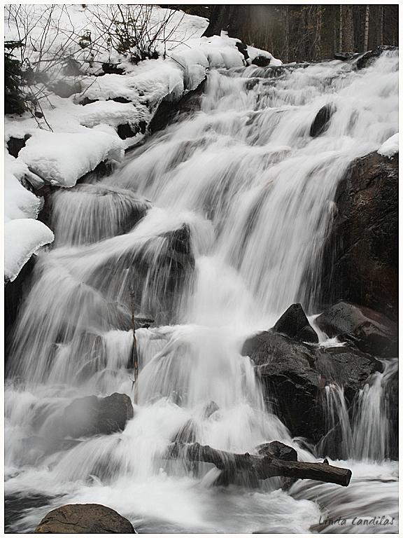 Lee Vining Waterfall