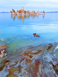 Winter Colors of the South Tufa's