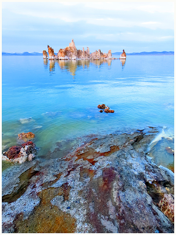 South Tufa's Colorings
