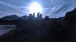 South Tufa's Blue Sunset
