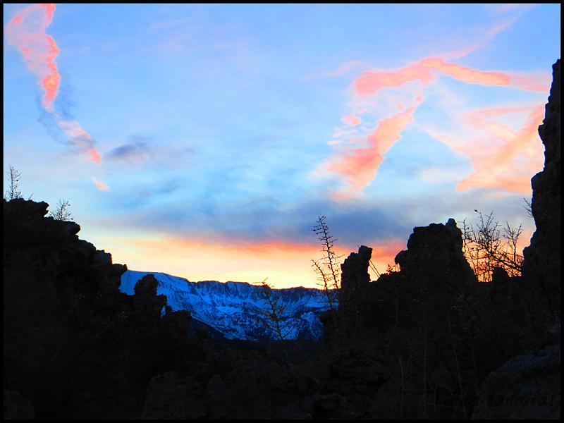 South Tufa Sunset