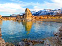 South Tufa's Blue Skies and Refections