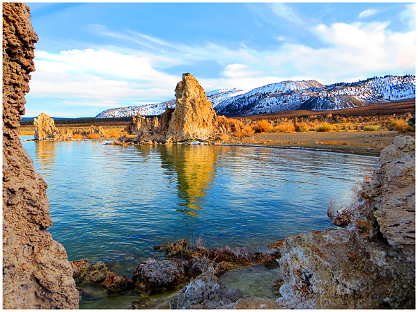 South Tufa's Blue Skies