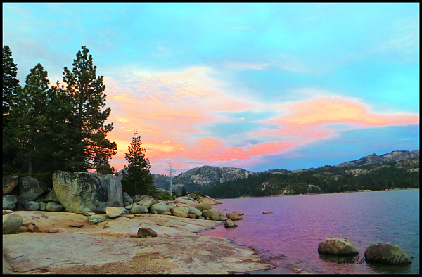 The Colors of Sunseting, Loon Lake