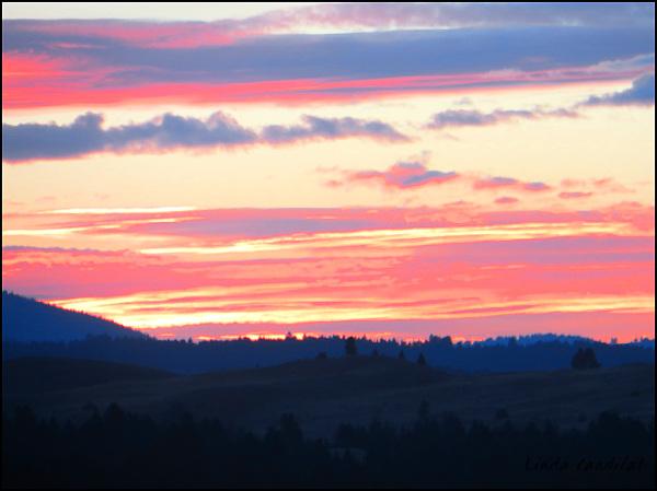 Sunset Montana