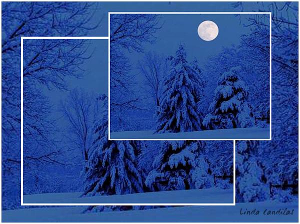 Montana Christmas Moon