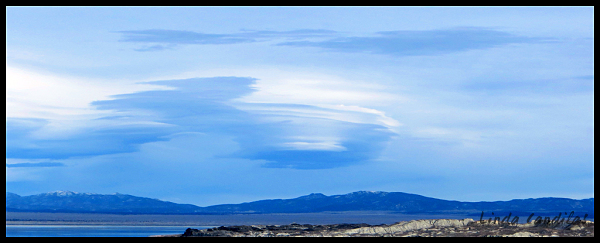 Lenticular Clouds, Mono Lake
