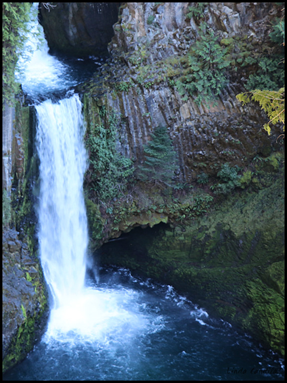 Tokette Falls, Oregon