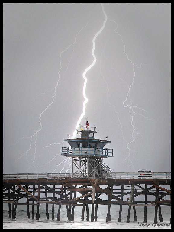 Lighting Stricking Pier