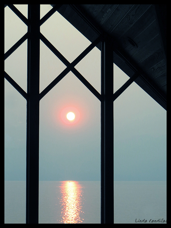 Though the Window