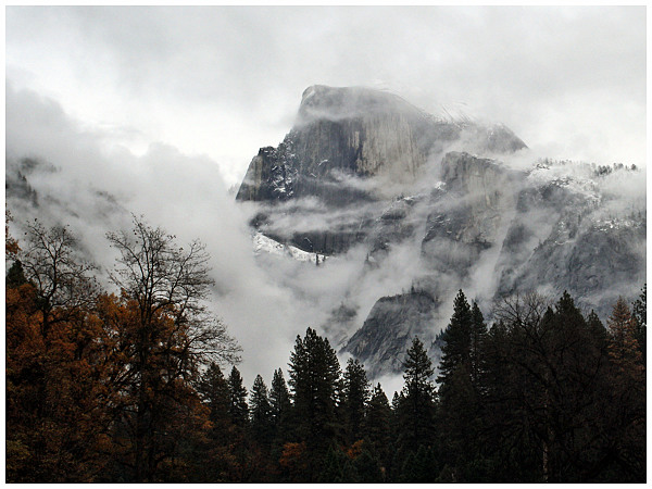 Winter in Yosemite a Memory