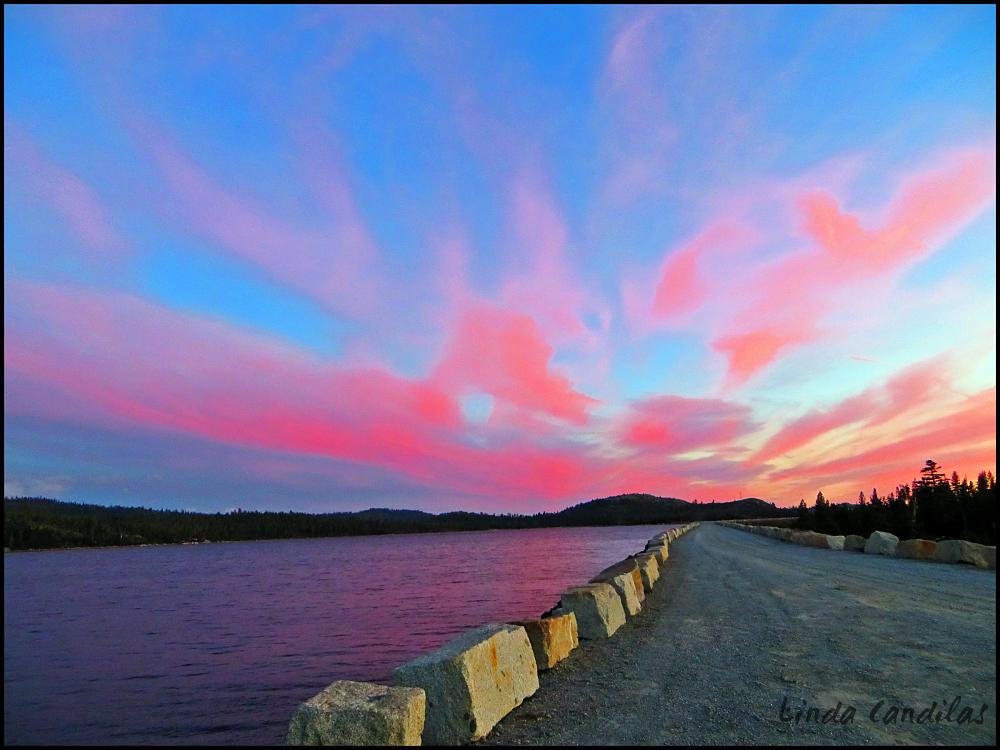 Sunset at Loon Lake 2021