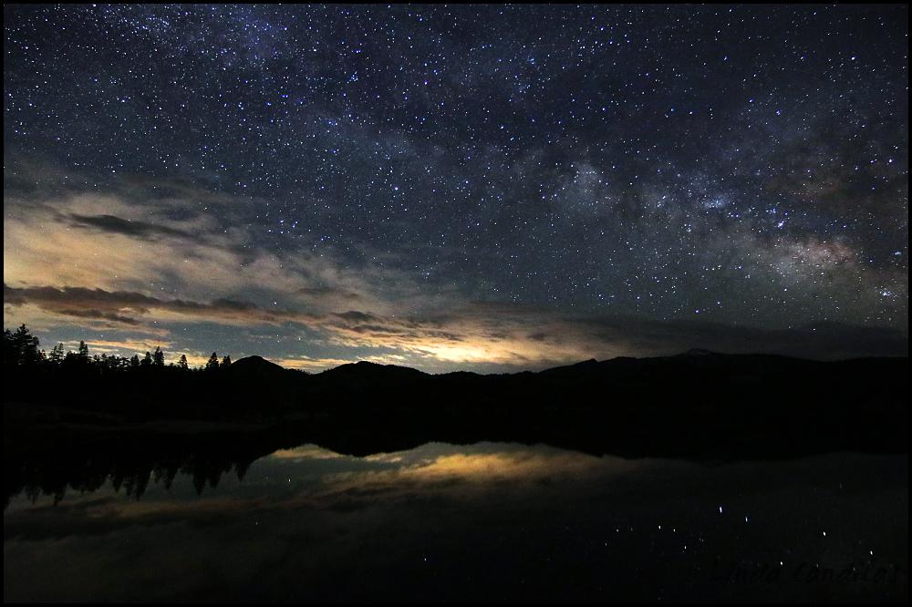 Milky Way Loon Lake