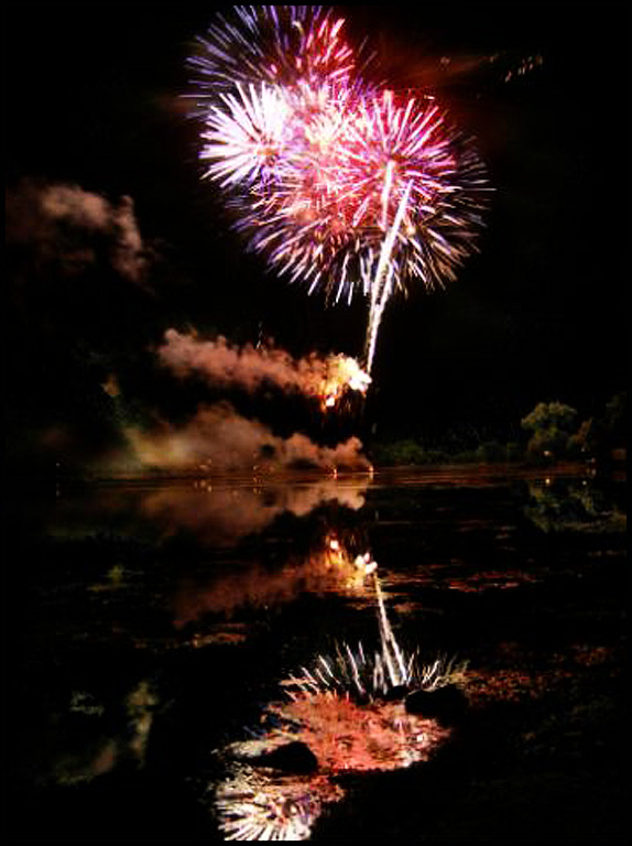 Fireworks Cameron Park Lake