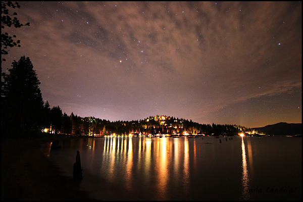 Zephyr Cove, Stars and Reflections