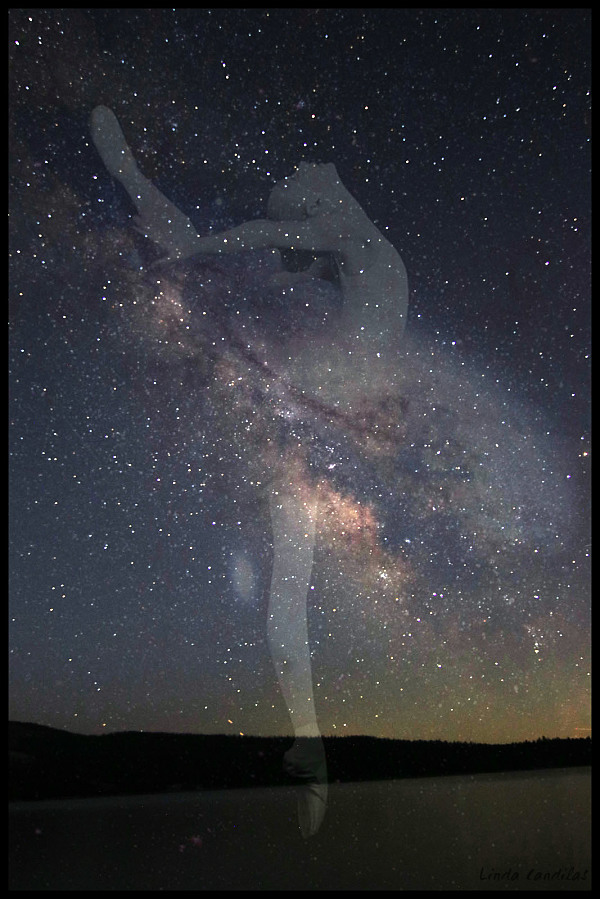Ballerina in The Stars