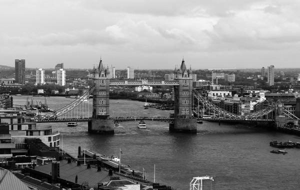 London Bridge wide (London)