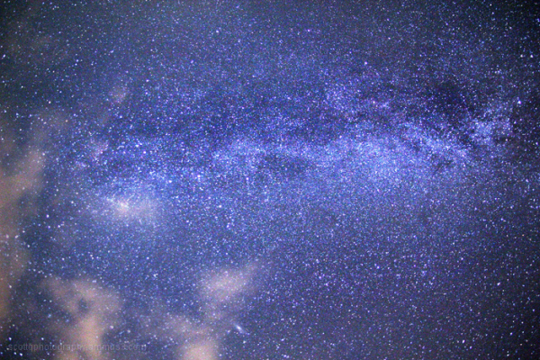 A shot of the milky way