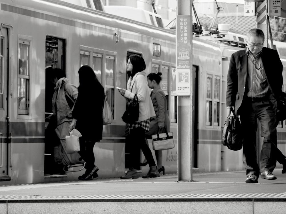 Shibamata station,early morning