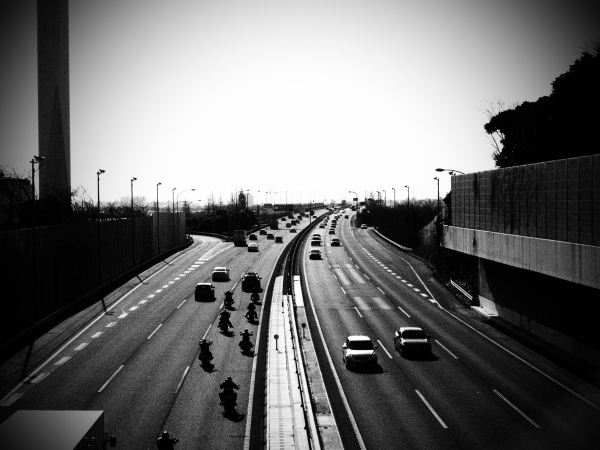 Nagareyama,highway
