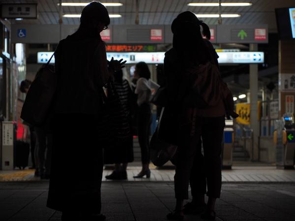 Shibamata station,night scene