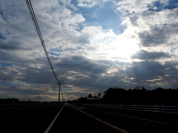 Winter cloud,Ichinomiya