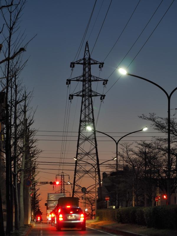 Sunset road,Kitamatsudo