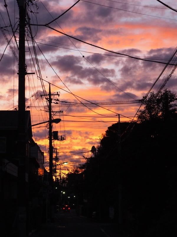 Sunset cloud,Koiwa tokyo