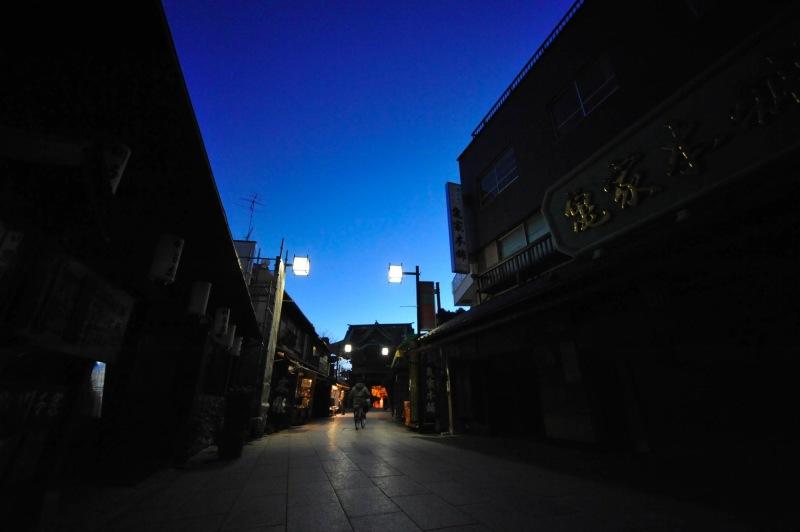 Shibamata,dawn