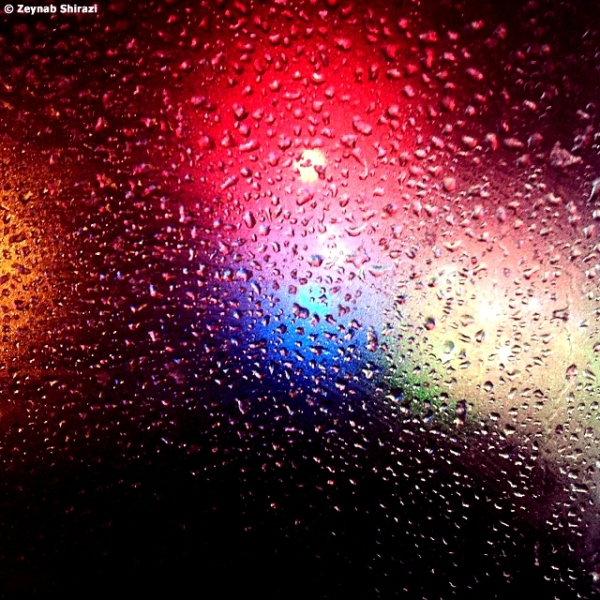 colors, window, rain, rainy