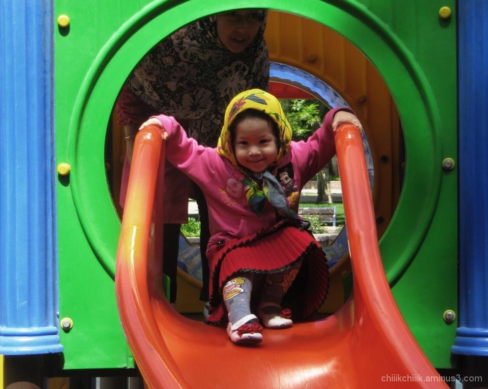 colorful kid